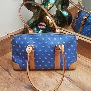Blue Dooney & Bourke purse